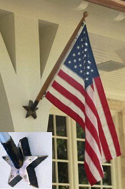 Flag Holders Stars And Strips Old House Web