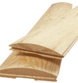 Log Siding Quarter Round Old House Web