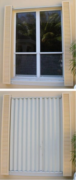 Storm Shutters Wind Protection Old House Web