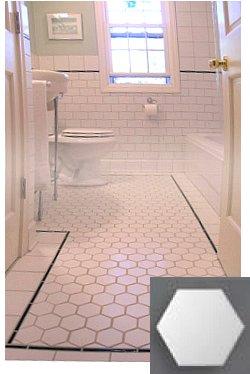 Hex Tiles Vintage Look