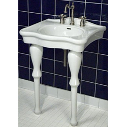 "Bathroom Sinks Nottingham 24"" nottingham brass console sink: classic style 