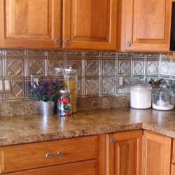 Tin Backsplash Make A Splash Old House Web