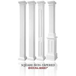 Square Columns Arts And Crafts Inspired Old House Web
