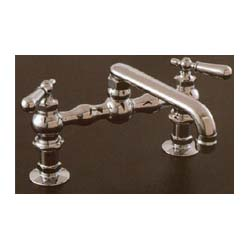 Kitchen Faucet Vintage Style Bridge Old House Web