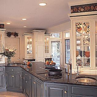Island adventure old house web for Award winning kitchen island designs