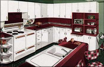The Same Kitchen (mine) Still Has A Full Set Of White Metal Cabinets By Youngstown  Kitchens. After 50+ Years, None Of The Cabinets Is Dented    And The ...