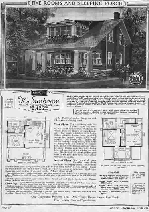 How To Find Sears Modern Homes | Old House Web