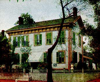 The Lincoln Home in 1905