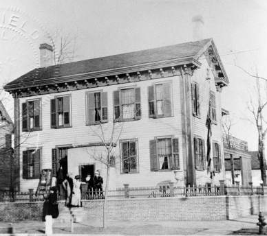 The Lincoln Home in the 1910