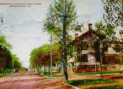 The Lincoln Home in the late 1860s