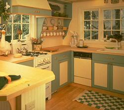 Kitchen Cabinets: Cottage style | Old House Web