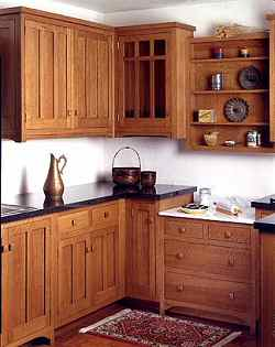 Kitchen Cabinets: Mission Accomplished: Arts And Crafts Cabinetry