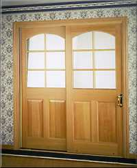 doors solid wood belleporte sliding patio door old