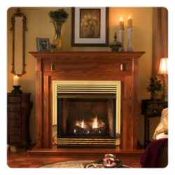 Fireplaces: Zero Clearance Gas Fireplaces With A Traditional Look