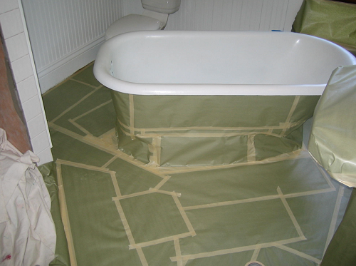how to restore a clawfoot tub Reclaimed and Restoring a Clawfoot Tub how to restore a clawfoot tub