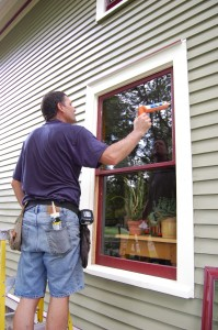 Robertson's Storm & Screen Installing Low-E glass Storm Windows