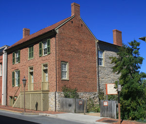 Stonewall Jackson House Lexington, Va.--photo from vmi.edu