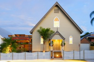Australian church conversion -- photo from homedesign.com