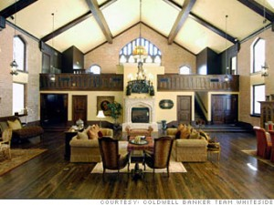 Dallas church conversion -- photo from CNNMoney.com