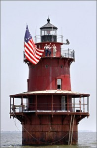 Thimble Shoals Lighthouse -- photo from usatoday.com