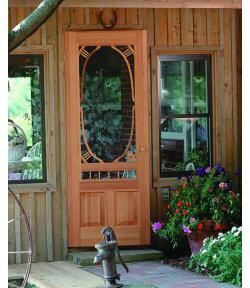 Screen Doors Solid Wood Add Style To Old Houses