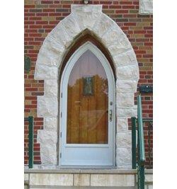 Storm Doors Tudor Style