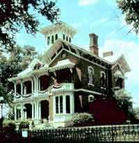 porches, cupolas, awnings used historically to create shade